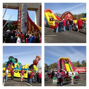 bounce houses and slides razorfest