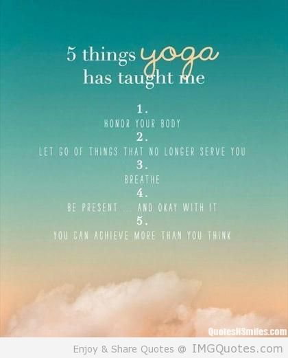 Do you do yoga have you had trouble restarting after an absence i